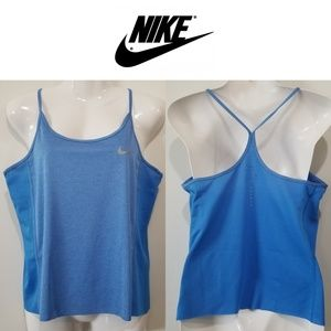 Nike Y Strap Dri-Fit Jersey Mesh Tank Top Medium